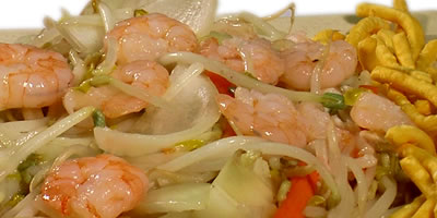Shrimp Chow Mein Chinese Food
