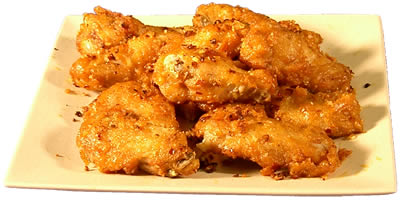 Spicy Chicken Wings Chinese Food