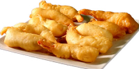 Sweet and Sour Breaded Shrimps Chinese Food